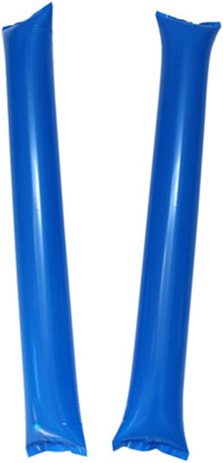 FUN FAN LINE 60 Pairs Bam Bam Thunder Sticks Noise Makers for Sporting Events Boom Sticks for Cheerleading Noise Sticks for Stadium or Parties.
