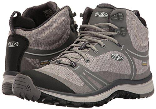 KEEN Women's Terradora Mid Waterproof Hiking Shoe, Gargoyle/Magnet, 9 M US by KEEN (Image #6)