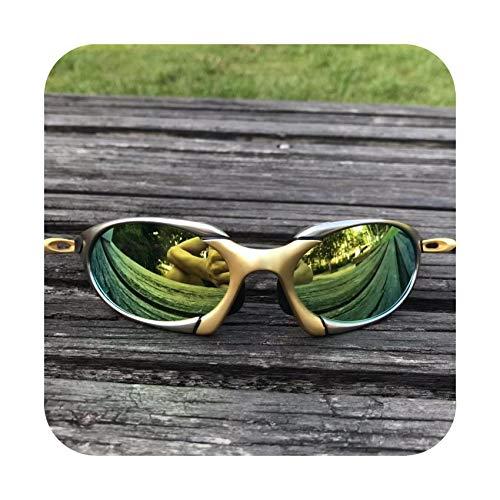 Polarized Running Glasses Alloy Frame Cycling Glasses UV400 Riding Eyewear Bicycle Sunglasses Bike ()