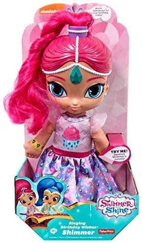 Fisher Price Shimmer And Shine Singing Birthday Wishes  Shimmer