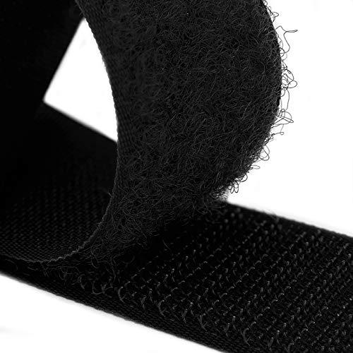 Black Sew on Hook and Loop Country Brook Design 1 1//2 inch, 10 Yards