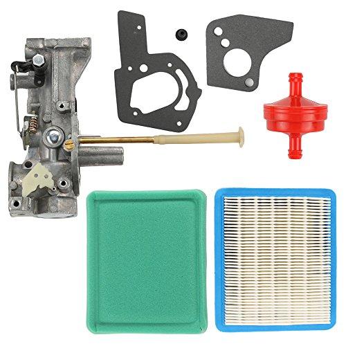 Anzac Carburetor with Air Filter for Briggs & Stratton 498298 692784 495951 492611 490533 495426 5 HP Engine Troy-bilt Rototiller Generac Generator Craftsman Tiller Power Washer Lawnmower ()