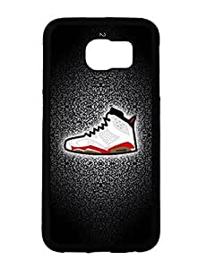 Bugs Bunny Galaxy Case's Shop Air Jordan Sneaker Shoes Logo Collection Printed Samsung Galaxy S6 Scratch-proof Case Cover for Men 3622952M710313646