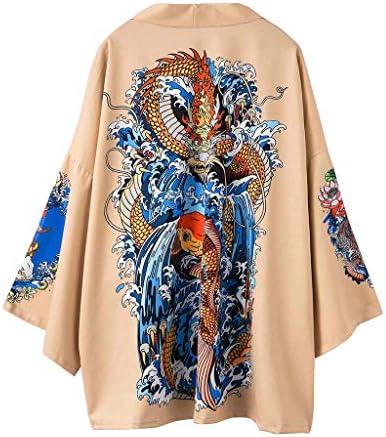 Litetao Men Long Sleeve Open Front Jacket Shirt Floral Printed Print Cardigan Shirts Coat Streetwear / Litetao Men Long Sleeve Open Front Jacket Shirt Floral Printed Print Cardigan Shirts Coat Streetwear