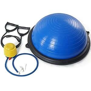 Amazon.com : Titan Blue Balance Ball Trainer Yoga Strength