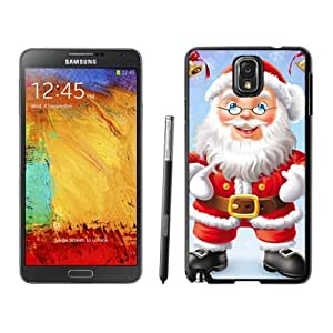 MEIMEINote 3 Case,Christmas Glasses Santa Grandpa TPU Black Samsung Galaxy Note 3 Cover Case,Note 3 Cover CaseMEIMEI