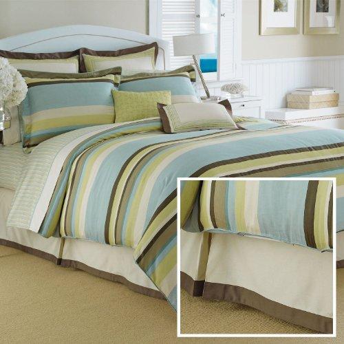 Nautica Sea Glass Bed SkirtKing