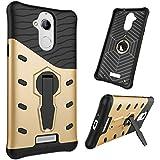 Tarkan® Coolpad Note 5 Back Case Cover 360 Kickstand Original Sniper [Gold]