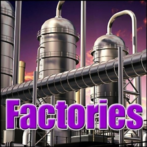 Industry, Tire Plant - Tire Manufacturing Plant: General Ambience, Industries & Factories, Engines, Motors & Machines, Factory & Industrial Equipment