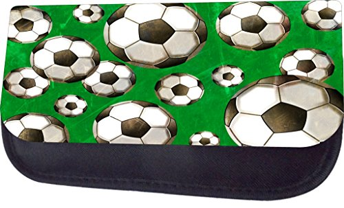 Soccer Balls On Green Jacks Outlet TM Pencil Case