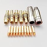 17PK CO2 Mig Welding Torch MB 15AK Accessories Kit M6250.8