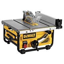 10 in. Compact Job Site Table Saw with Site-Pro Modular Guarding System (DWE7480)