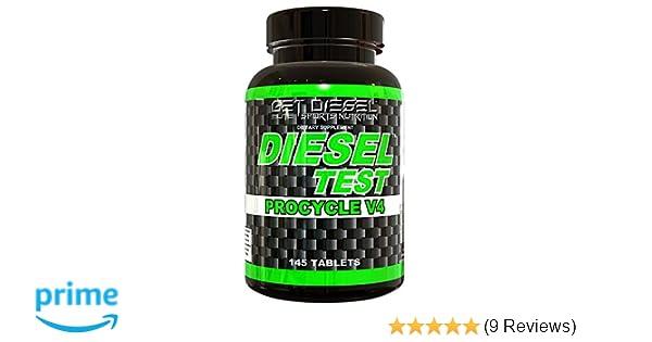 Amazon.com: GET Diesel Testosterone Booster Estrogen Blocker Diesel Test Procycle V4 145 Tabs Strongest Legal Test Booster Available.