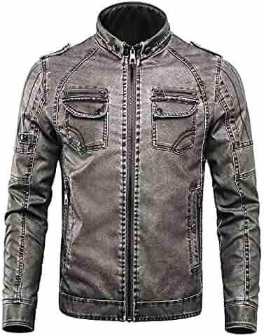 3b147cd0e Shopping Greys - Leather & Faux Leather - Jackets & Coats - Clothing ...