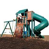 Swing N Slide Soaring Summerville Twist Wood Complete Play Set