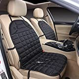 12-volt Heated Seat Cushion with 3-way Temperature Controller Constant Temperature Heating (Latest Version)black Car Seat (1)