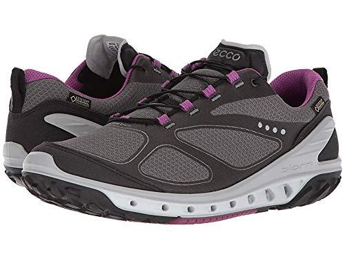 ECCO Women's Biom Venture Gore-Tex Trail Runner, Black/Titanium/Orchid, 39 EU/8-8.5 M US