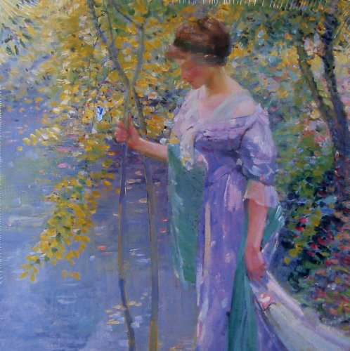 500pc. Water's Edge, Giverny, France Fine Art Puzzle