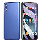 New Unlocked Dual HD 5.72 inch Camera Smartphone Android 6.0 512M +4G ROM Extended Memory 32G WiFi GPS 3G Call Mobile Phone (Blue)