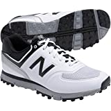 New Balance Men's nbg518 Golf Shoe, White/Black, 10.5 D US