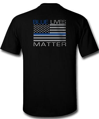 Amazon.com  Blue Lives Matter T-Shirt  Clothing b961f81b1ac1