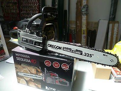 Kettensäge Baumsäge 45cc Messer 40cm Oregon–2Kartusche Sequoia