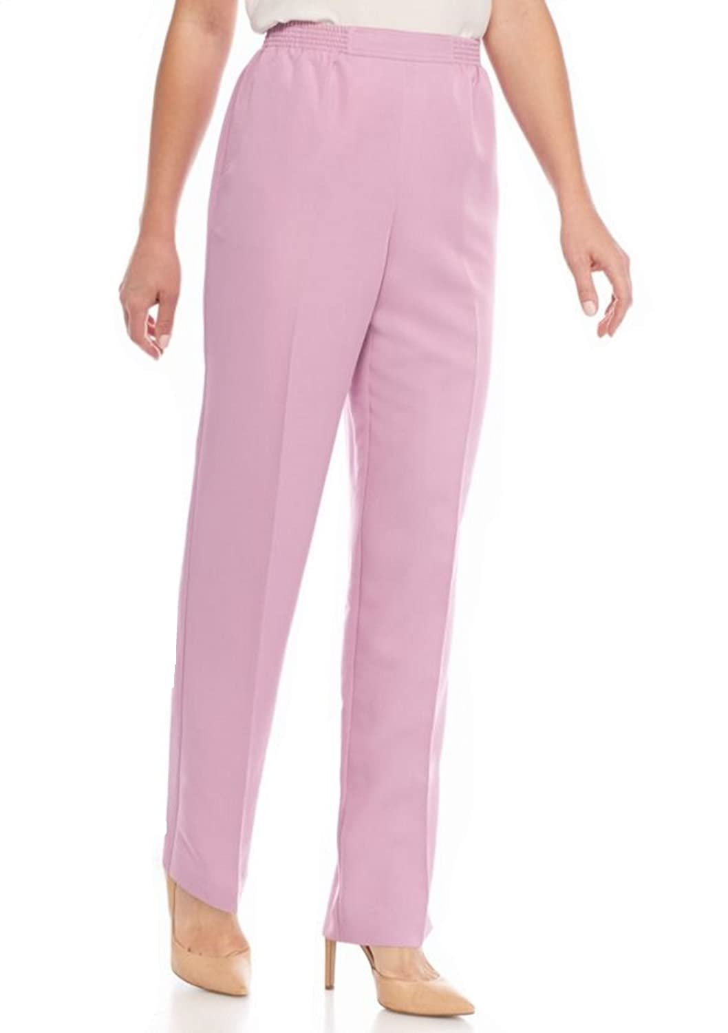 Alfred Dunner Women's Savannah Proportioned Pants