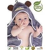 Premium Hooded Baby Towel, 100% Organic Bamboo, Free...