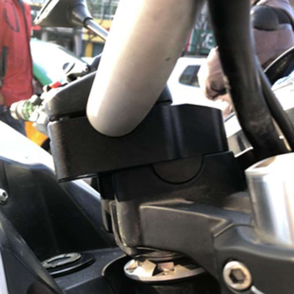 f/ür Benelli BJ300 TNT300 BN300 JFG RACING Motorrad-Lenkererh/öhung Lenkererh/öhungen Klemme Verl/ängerung Adapter erh/öht 30 mm