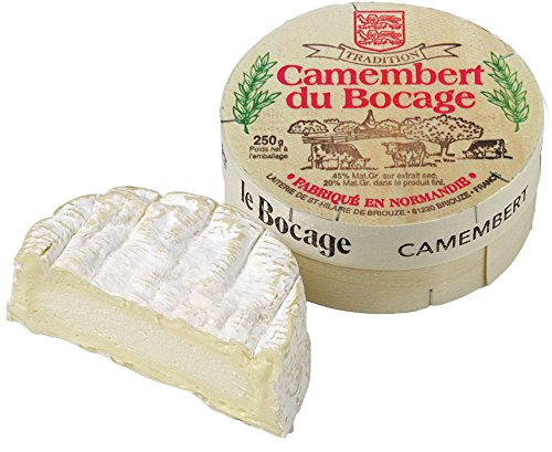 French Cow Milk Cheese, Camembert Le Bocage - 8.8 oz by Fromage Marquis (Image #1)
