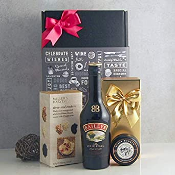 0a7a15f60120 Baileys Indulgence Hamper - Festive Christmas Food and Drink Hamper -  Cheese Gifts - Luxury Christmas Hamper - Baileys Gifts  Amazon.co.uk  Beer