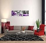 Landscape Moon Canvas Prints Purple Landscape