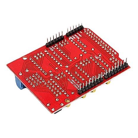 CNC Shield faway Elektronische Komponenten Uno R3/Board faway f/ür Arduino 3D Drucker 3D Drucker Zubeh/ör 4/x DRV8825/Treiber f/ür Driver Kit