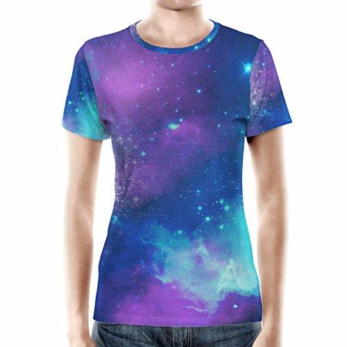 Beautiful Galaxy Women Cotton Blend T-Shirt Damen XS-3XL