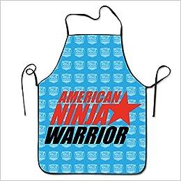 American Ninja Warrior Logo 1 Kitchen Baking Apron ...
