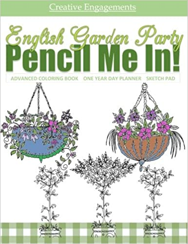 Amazon Com English Garden Party Advanced Coloring Book One Year Day