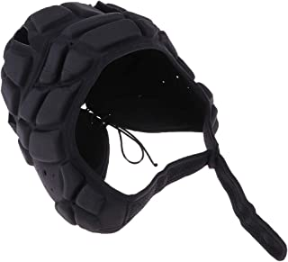 Perfeclan Soccer Goalkeeper Helmet for Football Sports Head Fall Protection - One Size Fits Most