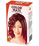 Color Mate Hair Color Cream, Copper Red, 130ml (Pack of 2)