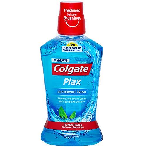 Colgate Plax Antibacterial Mouthwash, 24/7 Fresh Breath – 250ml, (Pepper Mint)