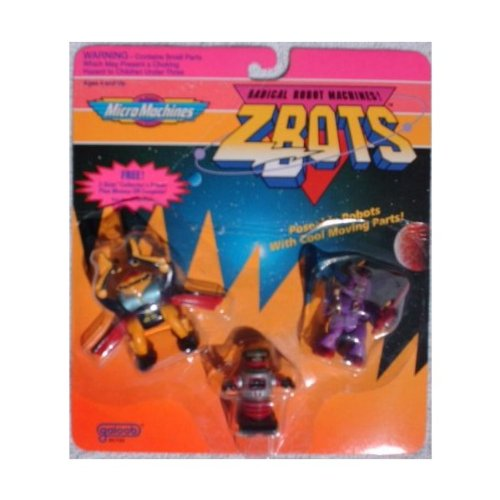 Micro Machines Z-bots Robot 3-Pack SKYDRAGON SIMPTOX for sale  Delivered anywhere in USA