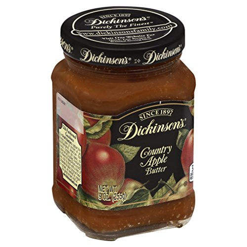 Dickinson's Country Apple Butter, 9 oz (Butter Apple Spread)
