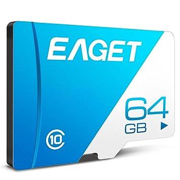 Rstant - Tarjeta de Memoria SD (128 GB, 64 GB, 32 GB, 16 GB, Clase 10, Alta Velocidad, UHS-I, Flash TF SDXC para Tableta y Smartphones)