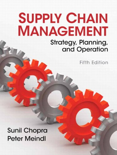 Price comparison product image Supply Chain Management (5th Edition)