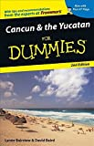 Front cover for the book Cancun & the Yucatan For Dummies by Lynne Bairstow