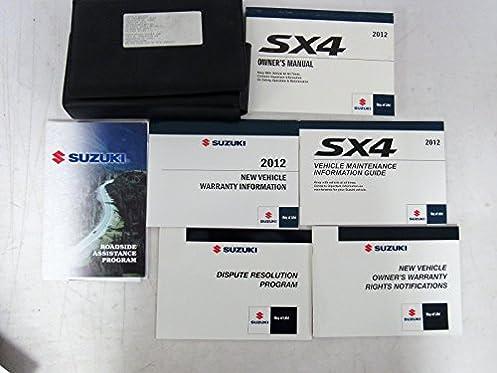 2012 suzuki sx4 owners manual guide book suzuki amazon com books rh amazon com 2007 suzuki sx4 owners manual.pdf sx4 owners manual download