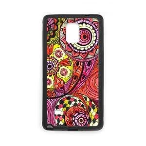 Samsung galaxy note 4 N9100 Sunflower Phone Back Case Art Print Design Hard Shell Protection DFG061458