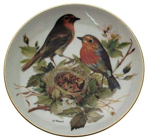(Tirschenreuth c1986 Rotkehlchen Europaische Singvogel Ursula Band Red Robin Songbirds of Europe CP1620)
