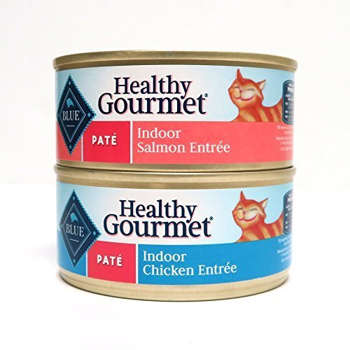 Blue Buffalo Healthy Gourmet Indoor Wet Cat Food Variety Pac