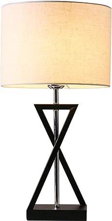 HYYK American Table Lamp Bedroom Bedside Lamp Living Room
