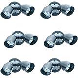 Designers Fountain Q102H-87-6 Quartz Halogen QH Security Light (6 Pack), 10''